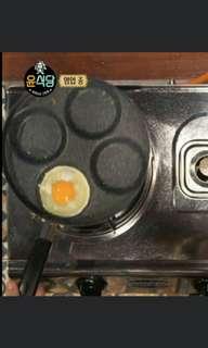 """韓國人氣節目""""尹餐廳2"""" 煮煎蛋,配拌飯必備!多用途煎pan,4格蛋餃鍋,mini pancake,煎蛋器"""