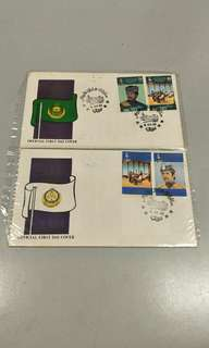 Brunei first day covers
