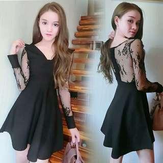 PO Black Dress