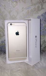 Reprice! Iphone 6 Gold
