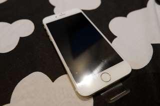 (TURUN HARGA) Iphone 6 (gold) 32gb garansi 4 bulan