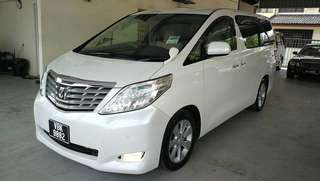 USED ~ Toyota Alphard 2.4 S (A) Full spec ~ Year 2009. 7 Seater.