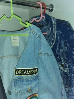 Jaket jeans bershka | benefit