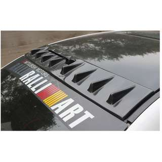 Mitsubishi Lancer EX GT Roof Vortex and other accessories!