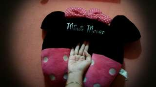 Minnie Mouse Bantal leher