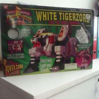 Power Rangers white tigerzord