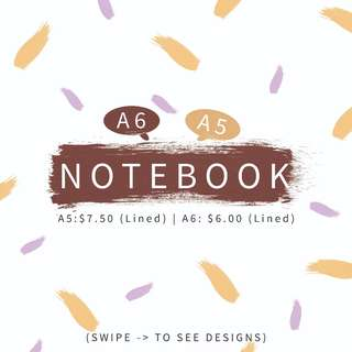 Assorted Notebooks {CHEAPEST}