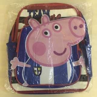 BN 🐷PEPPA PIG🐷 Team George Children/ Kids' School Bag/ Backpack/ Haversack