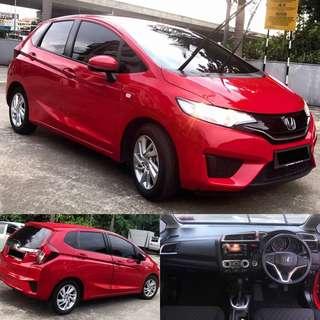 SAMBUNG BAYAR / CONTINUE LOAN  HONDA JAZZ 1.5 LE AUTO PUSH START BUTTON TAHUN 2016/2016'SEBULAN RM 1