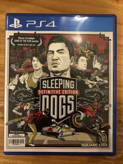 PS4 Game: Sleeping Dogs Definitive Edition