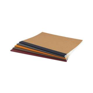 Muji Colored Notebook Set A5