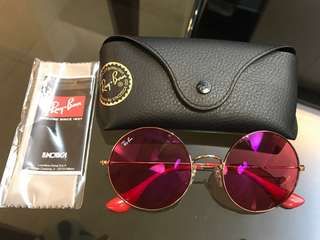 Ray Ban Sunglasses RB 3592 | Red Classic | 太陽眼鏡
