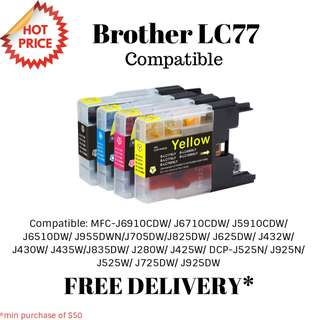 Brother LC77 Compatible Ink Cartridge