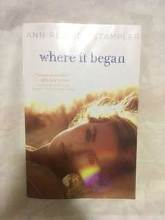 Where It Began By Ann Stampler Paperback Book