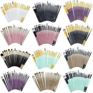 20 pcs. Make up Brushes