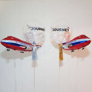 24-inch Personalised Bubble Balloon/ Helium Balloon/ Mother's Day