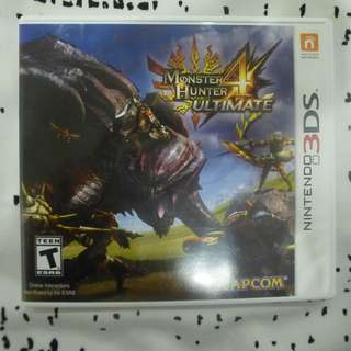 🚚 Monster Hunter 4 3DS Game