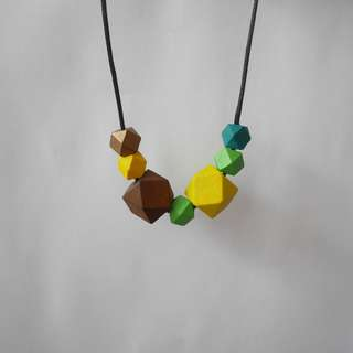 Sunflower handcrafted necklace