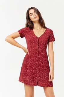Red Forever21 Polkadot Dress