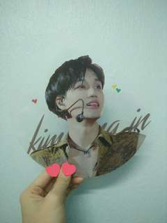 Exo Kai Transparent Fan by askkai