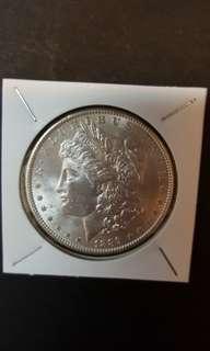 U.S Morgan silver Dollar. 1889.