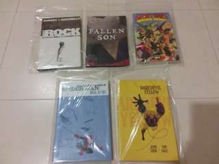 Marvel Comics Various Hard and Soft Cover.*Important - Pls read description!