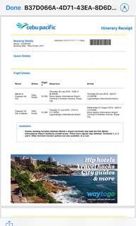Cebu ticket to Cagayan De Oro