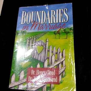 Boundaries in Marriage by Dr Henry Cloud John Townsend