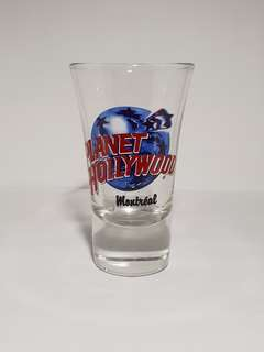 Montreal Planet Hollywood Shot Glass, Collectible
