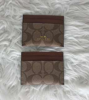 NAME CARD HOLDER AUTHENTIC COACH
