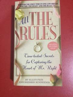 All the rules Time tester secrets for capturing the heart of mr right