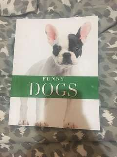 Funny dog book