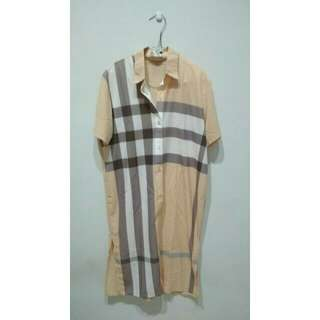 Shirt Dress Peach