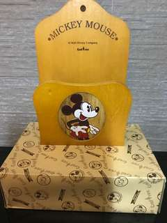 🇯🇵 Mickey Mouse 木製信箱