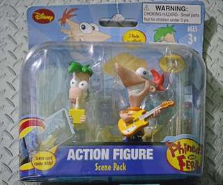 PHINEAS and FERB toys