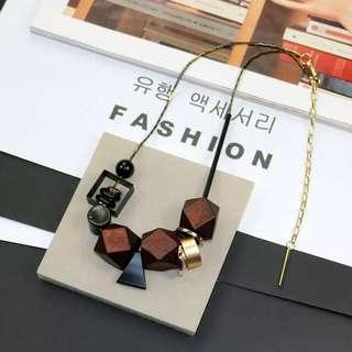 Korean statement necklace choker fashion
