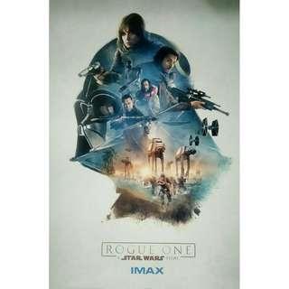 Star Wars Rogue One IMAX Poster #rayaletgo