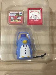 Sanrio vintage mini 3 絕版食玩 tuxedosam水壼