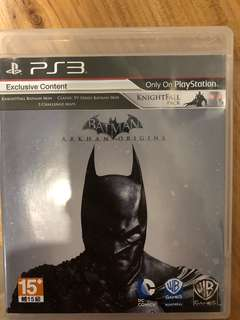 PS3: Batman Arkham Origins