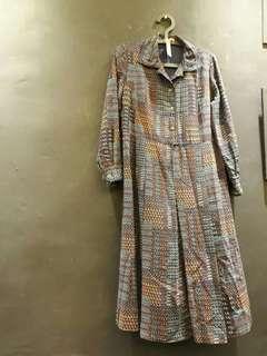 🖤泰國帶回復古洋裝