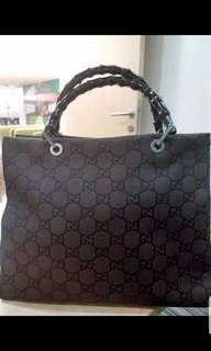REPRICED!! Gucci Bamboo Tote