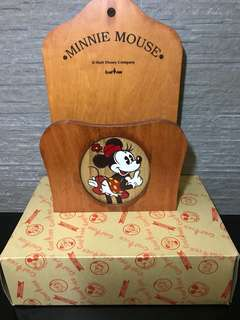🇯🇵 Minnie Mouse 木製信箱