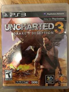 PS3: Unchartered 3 Drake's Deception