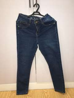 Cotton On Dark Wash Maong Jeans