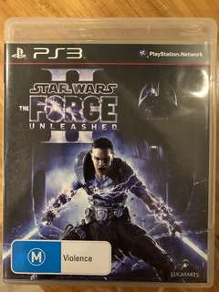 PS3: Star Wars The Force Unleashed