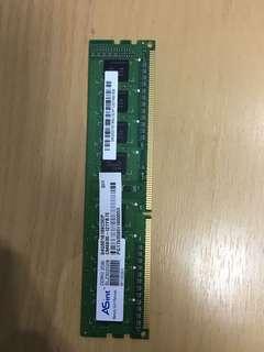🚚 ASint DDR3 2G記憶體