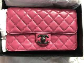 (Brand New) Chanel Bag (clutch with chain)
