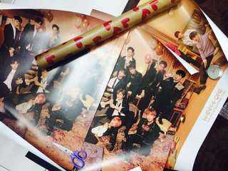 WTS WANNA ONE I PROMISE YOU POSTERS