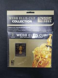 2011西新蘭欖球大賽冠軍15元紀念票,原裝未拆