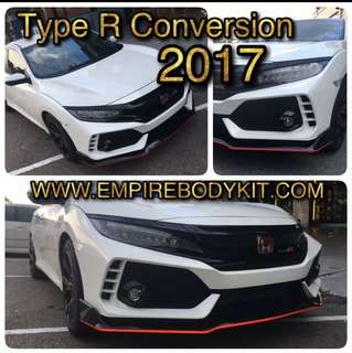 Honda Civic FC Type R Bodykit